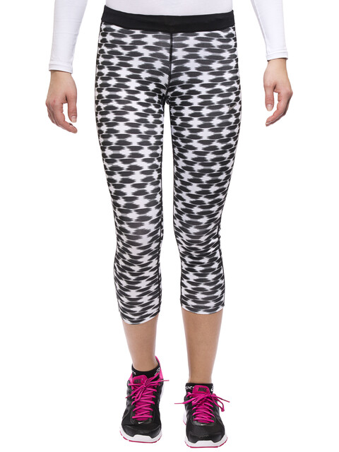 Nike Printed Relay Crop Women black/refsil